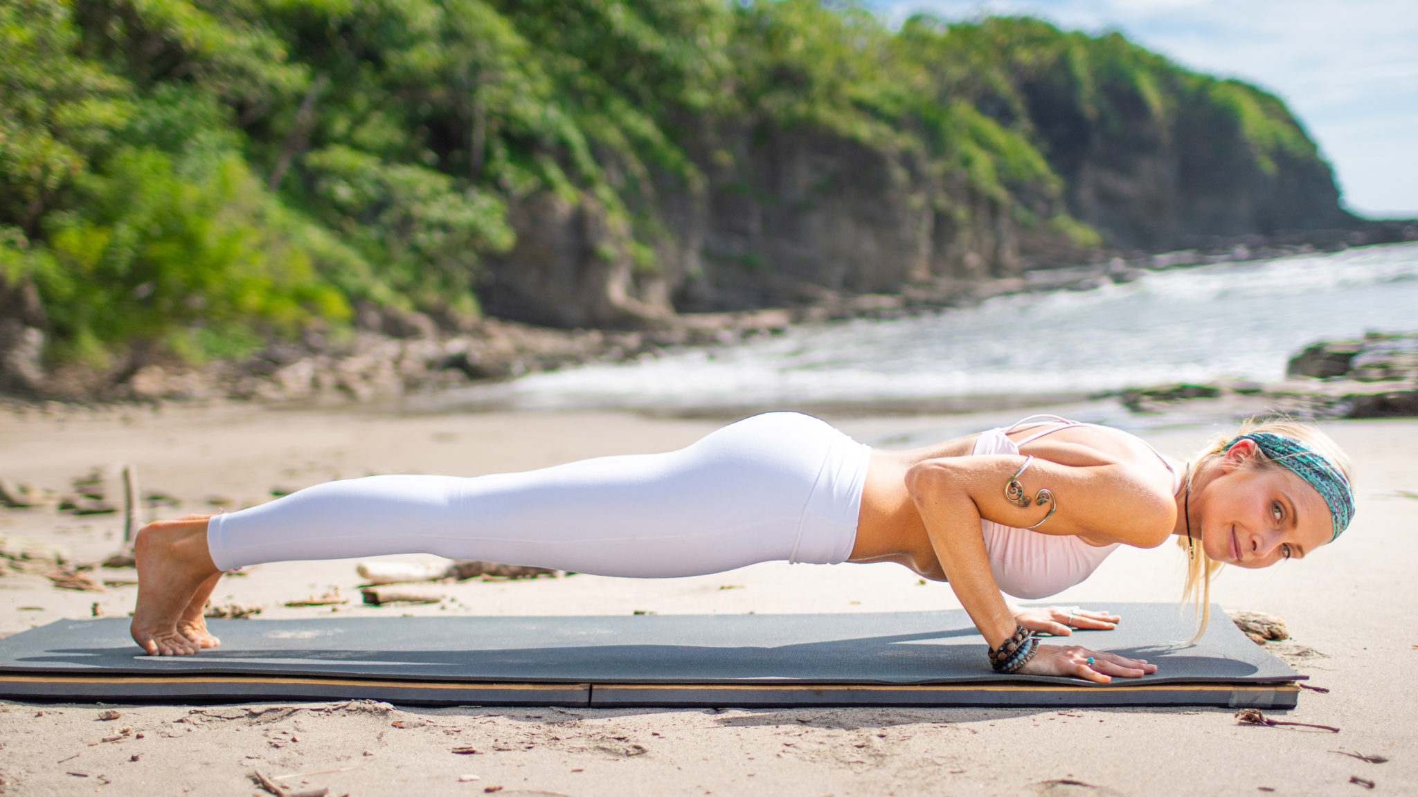 The 50 Yoga Workout Challenge Details + Schedule   Boho Beautiful