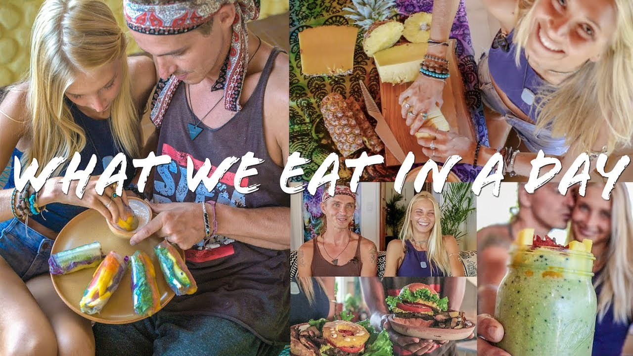 What we eat in a day in Costa Rica