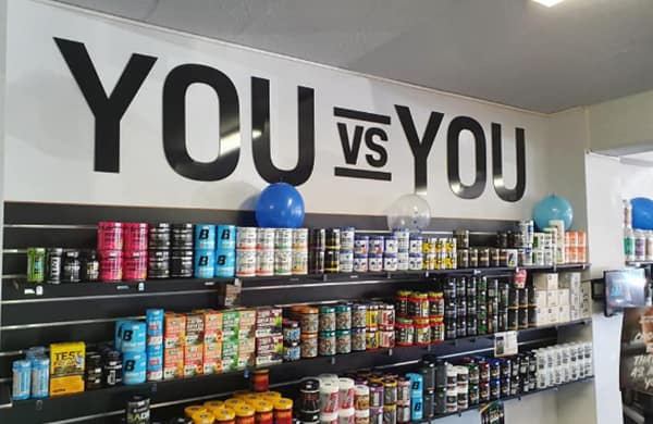 Supply Shelf—Supplements in Caloundra