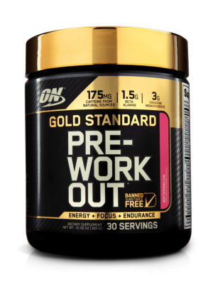 Gold Standard Preworkout By ON