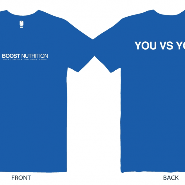 Blue Shirt by Boost Nutrition