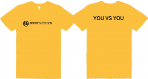 Yellow Shirt by Boost Nutrition