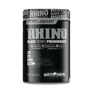 Rhino Black Series Preworkout by MuscleSport