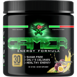 Gamer Energy Formula By Player 2