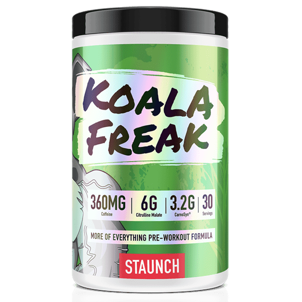 Koala Freak Preworkout by Staunch