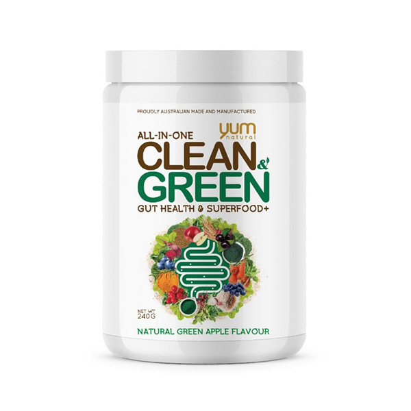 Clean & Green By Yum Natural