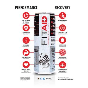 FitAid Energy Drink By Lifeaid Beverage Co.