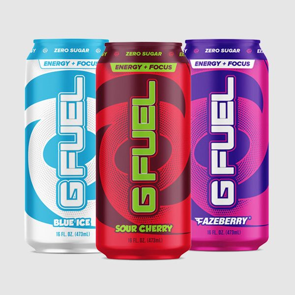 G FUEL Energy Drinks