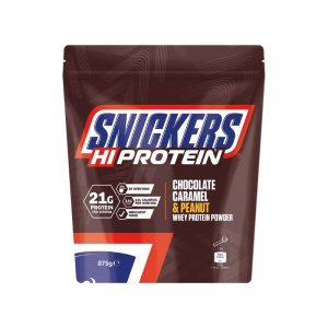 Snickers Hi Protein Chocolate Caramel and Peanut Whey Protein Powder