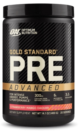 Gold Standard Pre Advanced By ON