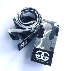 Camo Knee Wraps By Get Gripped