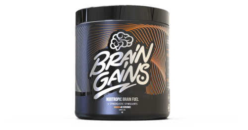 Brain Gains By Switch On Black Edition