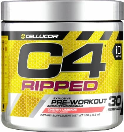 C4 Ripped Pre-Workout Boost Nutrition