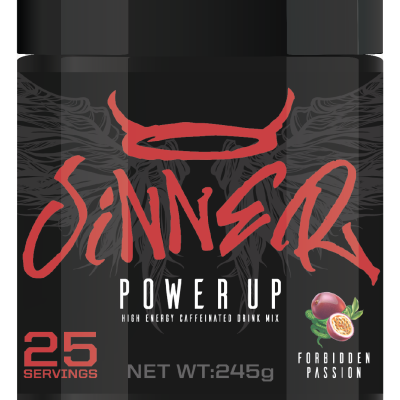 Sinner Power Up By Sinner Supps