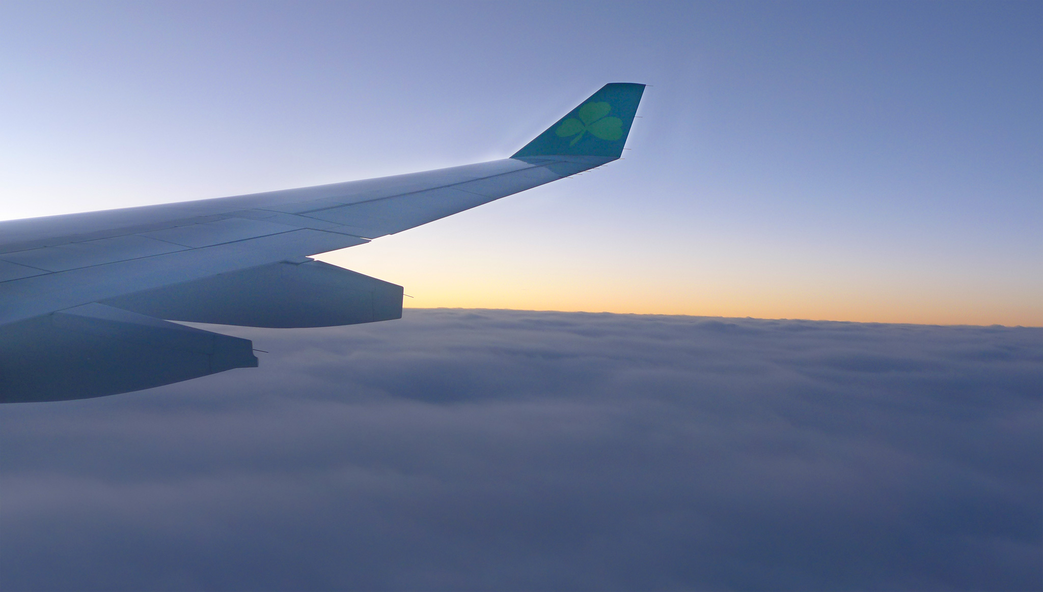 are lingus flying into dublin