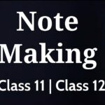 Format of Note Making