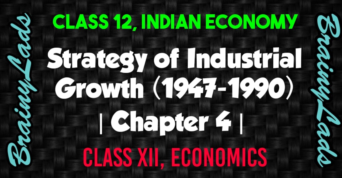 Strategy of Industrial Growth