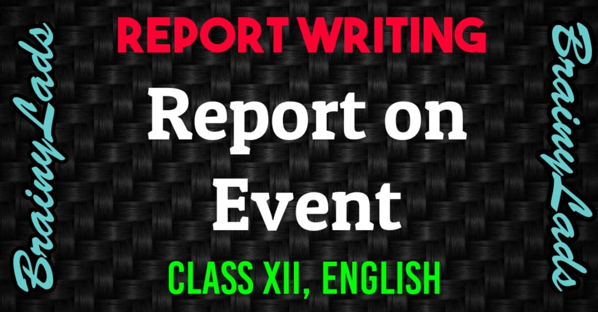 Report on Event