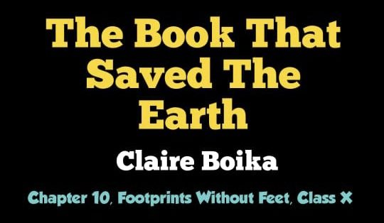 The Book That Saved The Earth