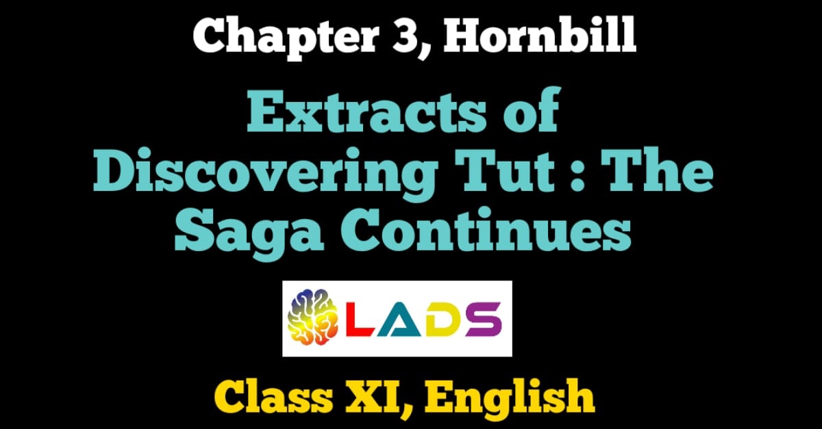 Extracts of Discovering Tut