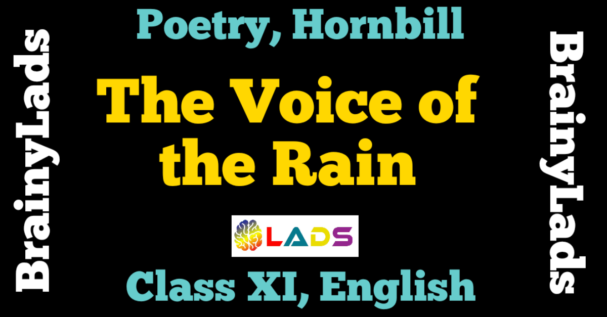 The Voice of the Rain