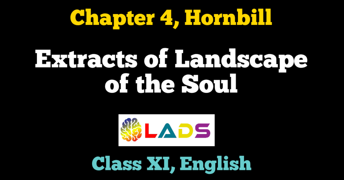 Extracts of Landscape of the Soul