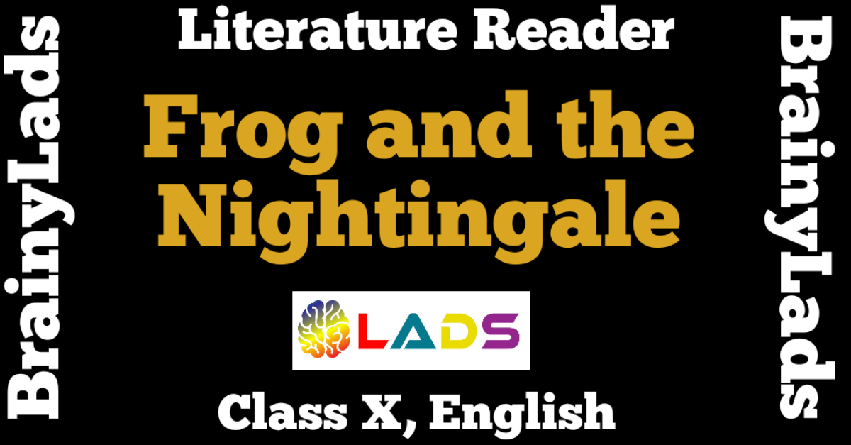 Frog and the Nightingale