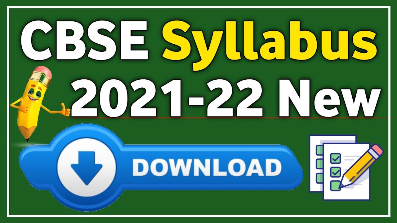 Updated Syllabus of Class XII