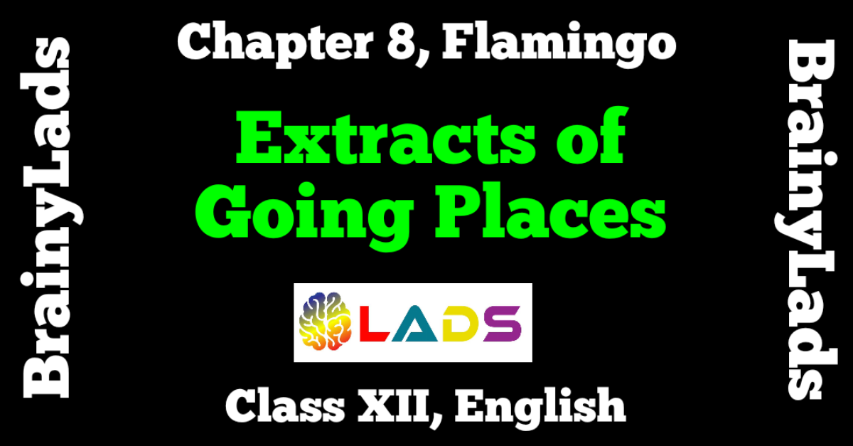 Extracts of Going Places