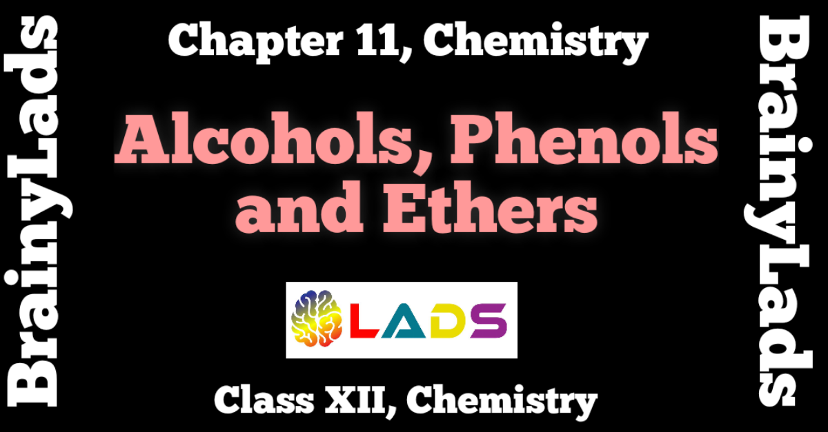 Alcohols Phenols and Ethers