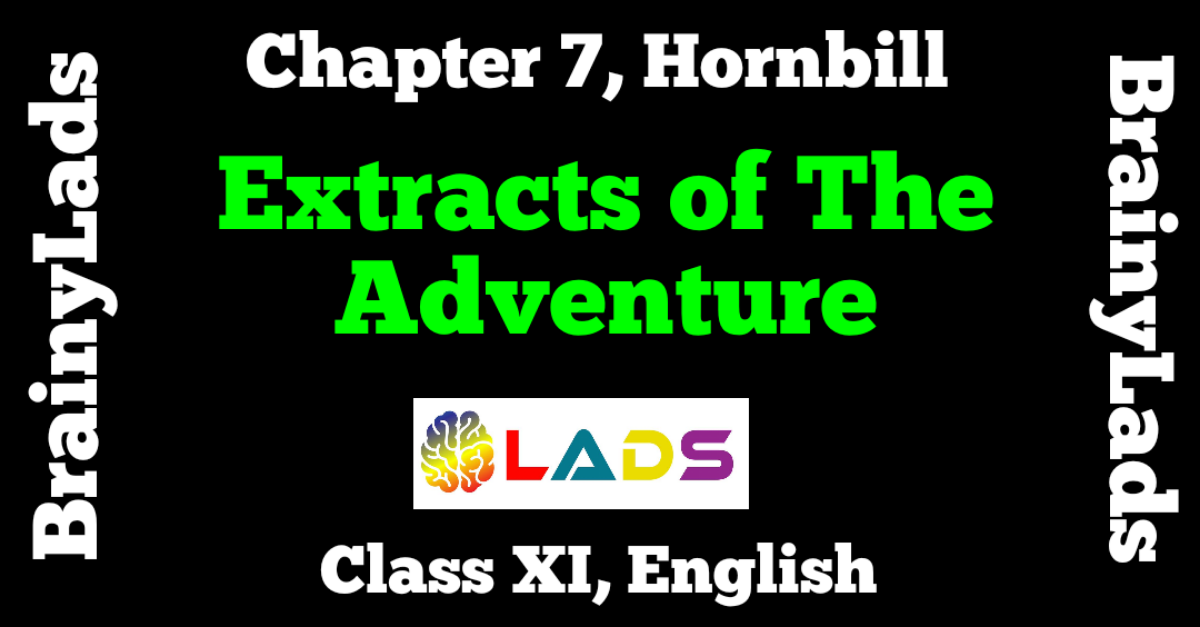 Extracts of The Adventure