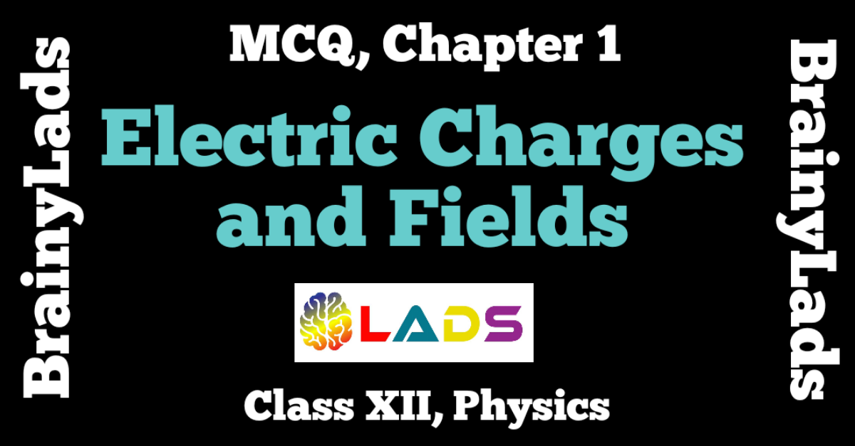 MCQ of Electric Charges and Fields