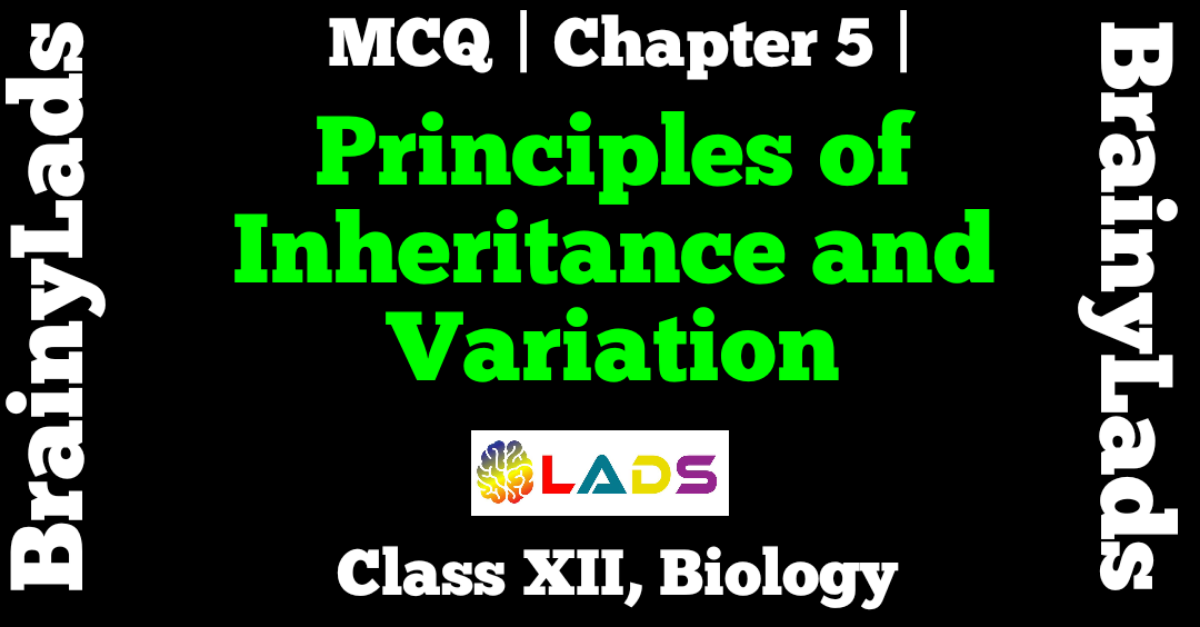 MCQ Of Principles of Inheritance and Variation