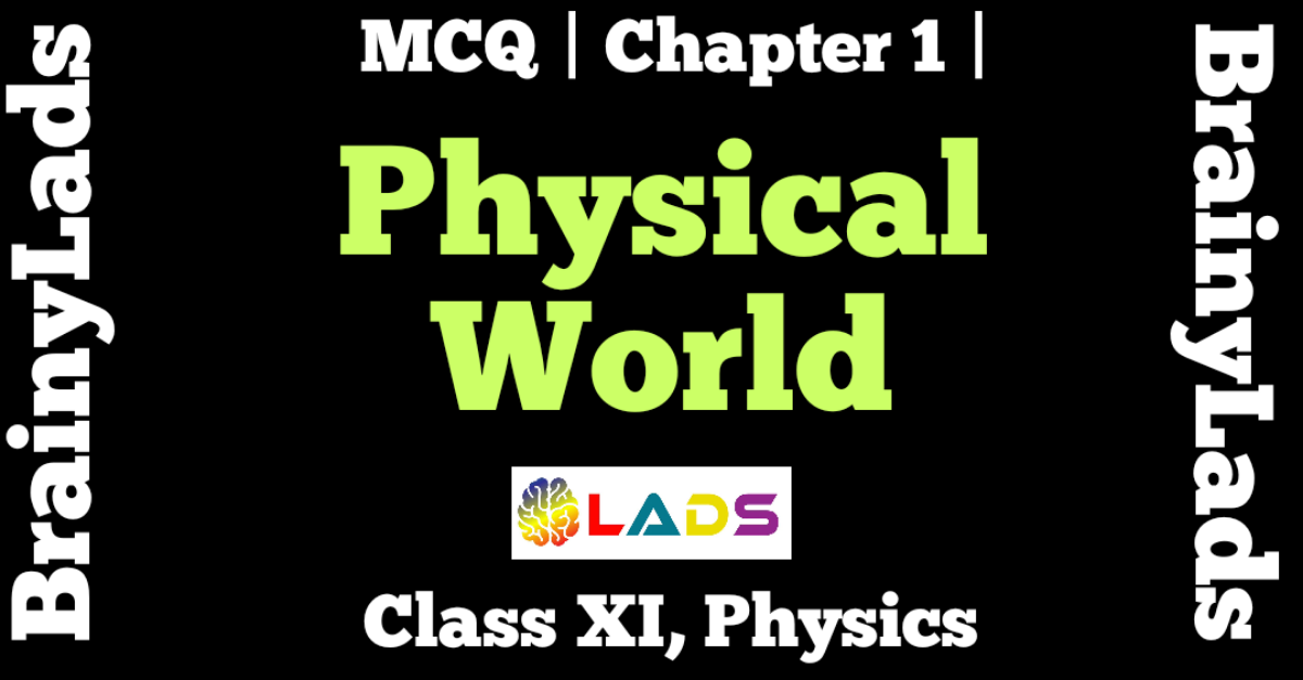 MCQ of Physical World