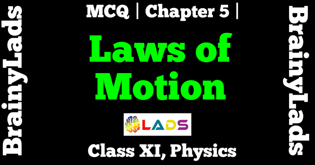 MCQ of Laws of Motion