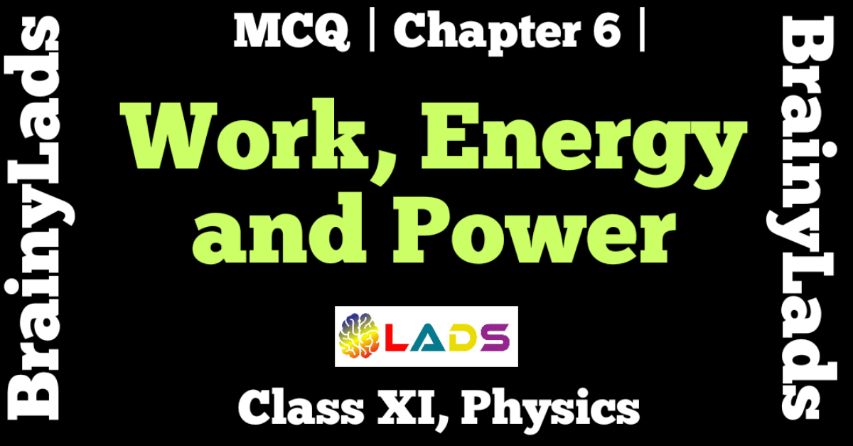 MCQ of Work Energy and Power