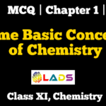 MCQ of Basic Concepts of Chemistry