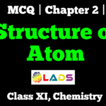MCQ of Structure of Atom