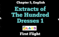 Extract Based Questions of The Hundred Dresses Part 1
