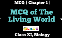 MCQ Of The Living World