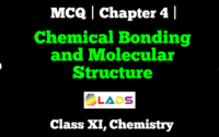 MCQ of Chemical Bonding and Molecular Structure