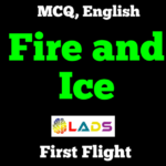 MCQ of Fire and Ice