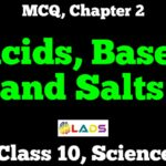 MCQ of Acids Bases and Salts