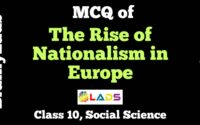 MCQ Of The Rise Of Nationalism