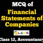 MCQ of Financial Statements of Companies