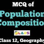 MCQ of Population Composition