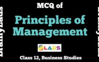MCQ of Principles of Management