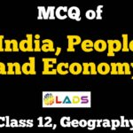 MCQ of India People and Economy