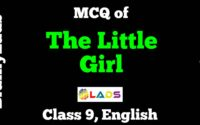 Extracts of The Little Girl