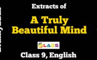 Extracts of A Truly Beautiful Mind